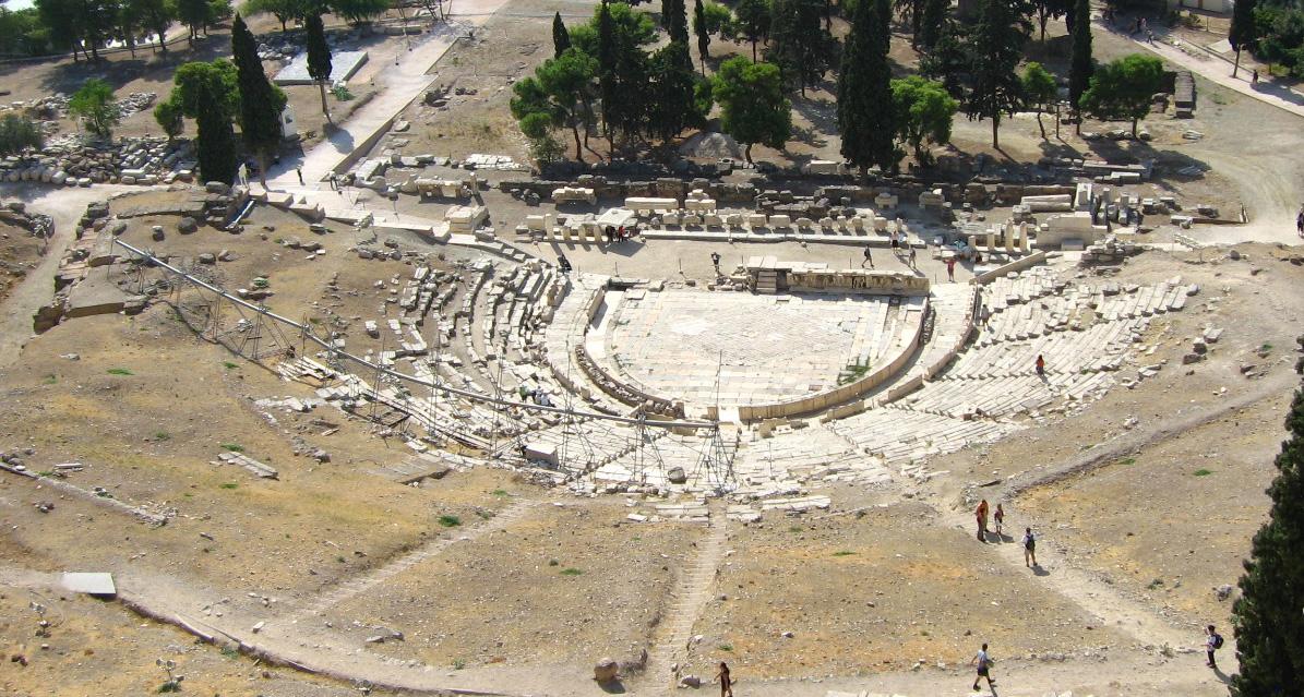 06アテネ:ディオニソス劇場