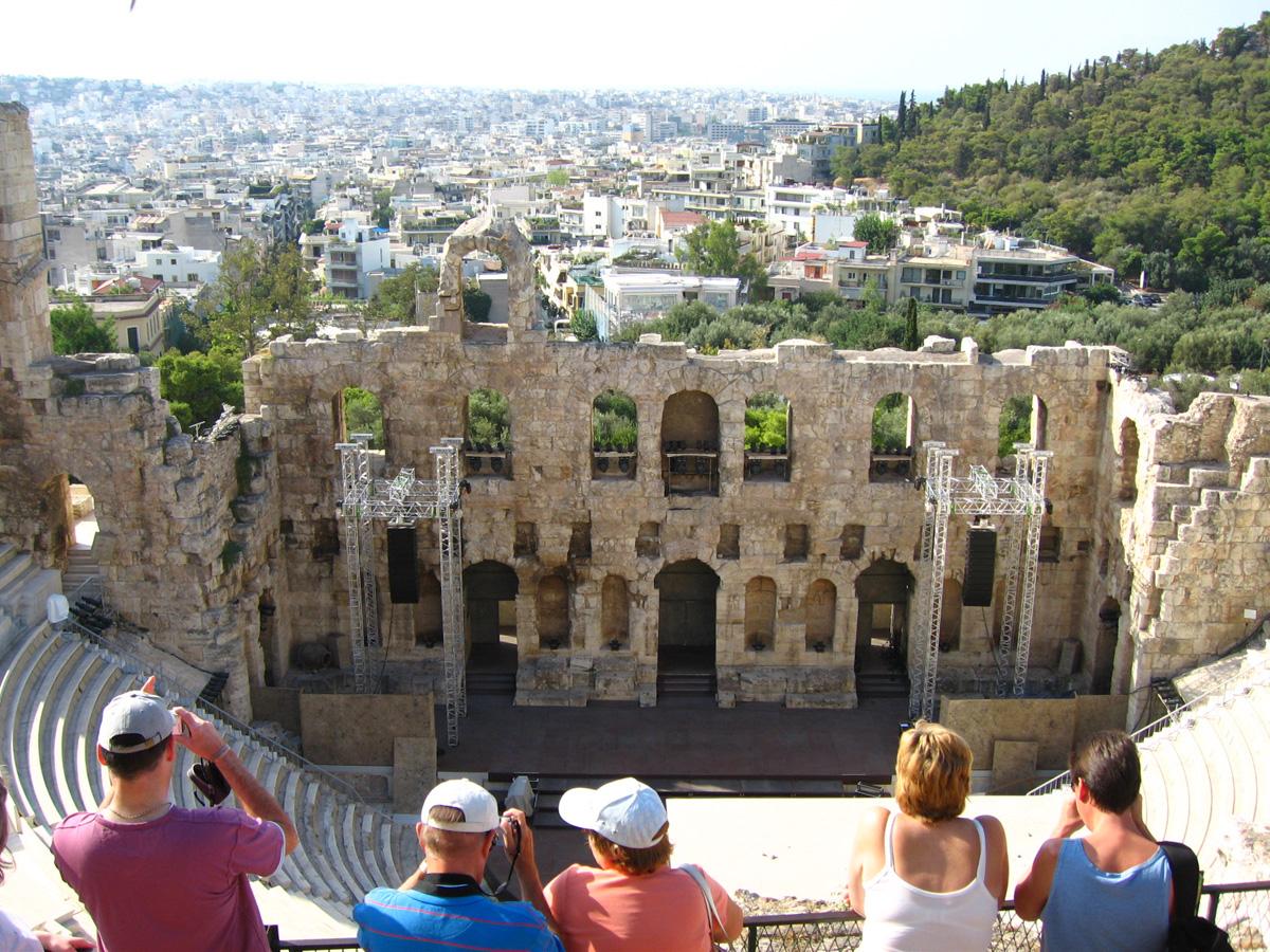 11アテネ:音楽堂