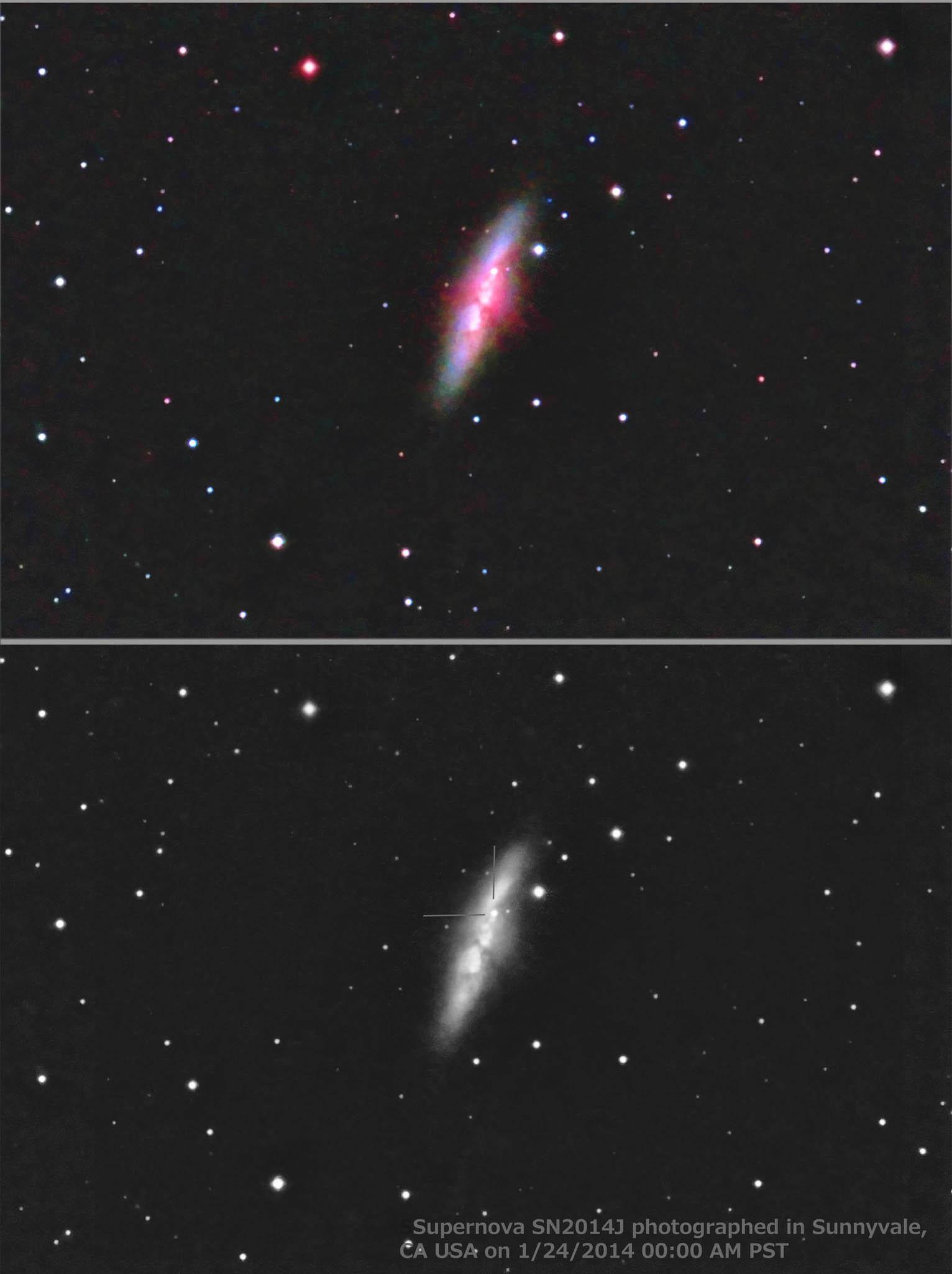 M82 and supernova SN2013J