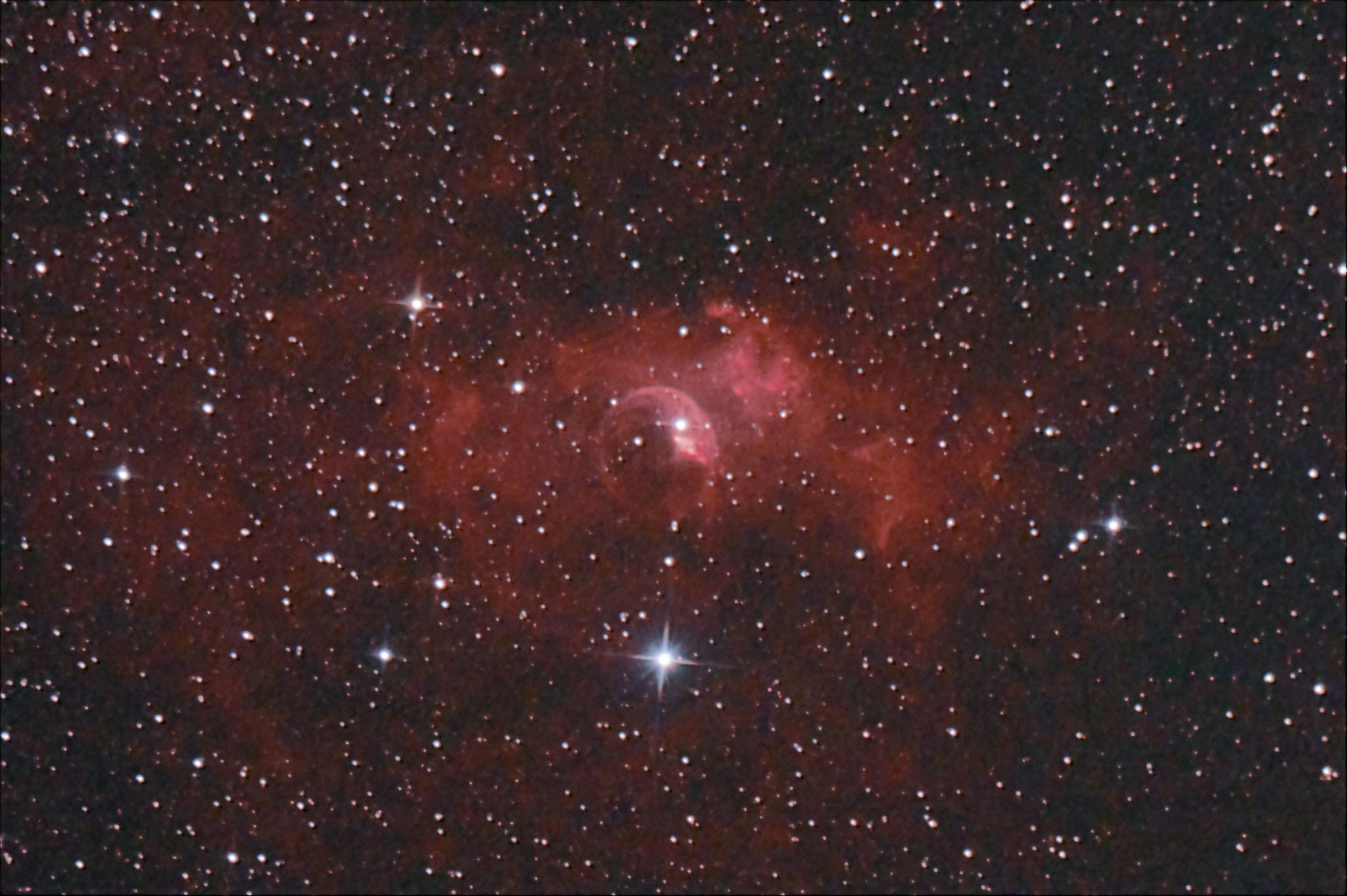NGC7635 Bubble Nebula バブル星雲 カシオペヤ座