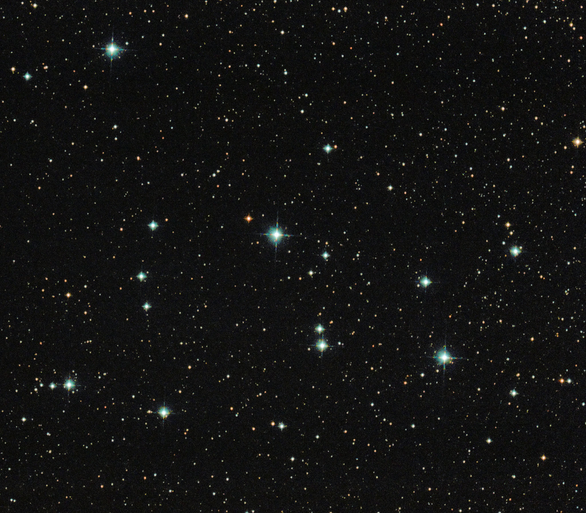 M39 Open Cluste NGC 7092 open cluster in the constellation Cygnus