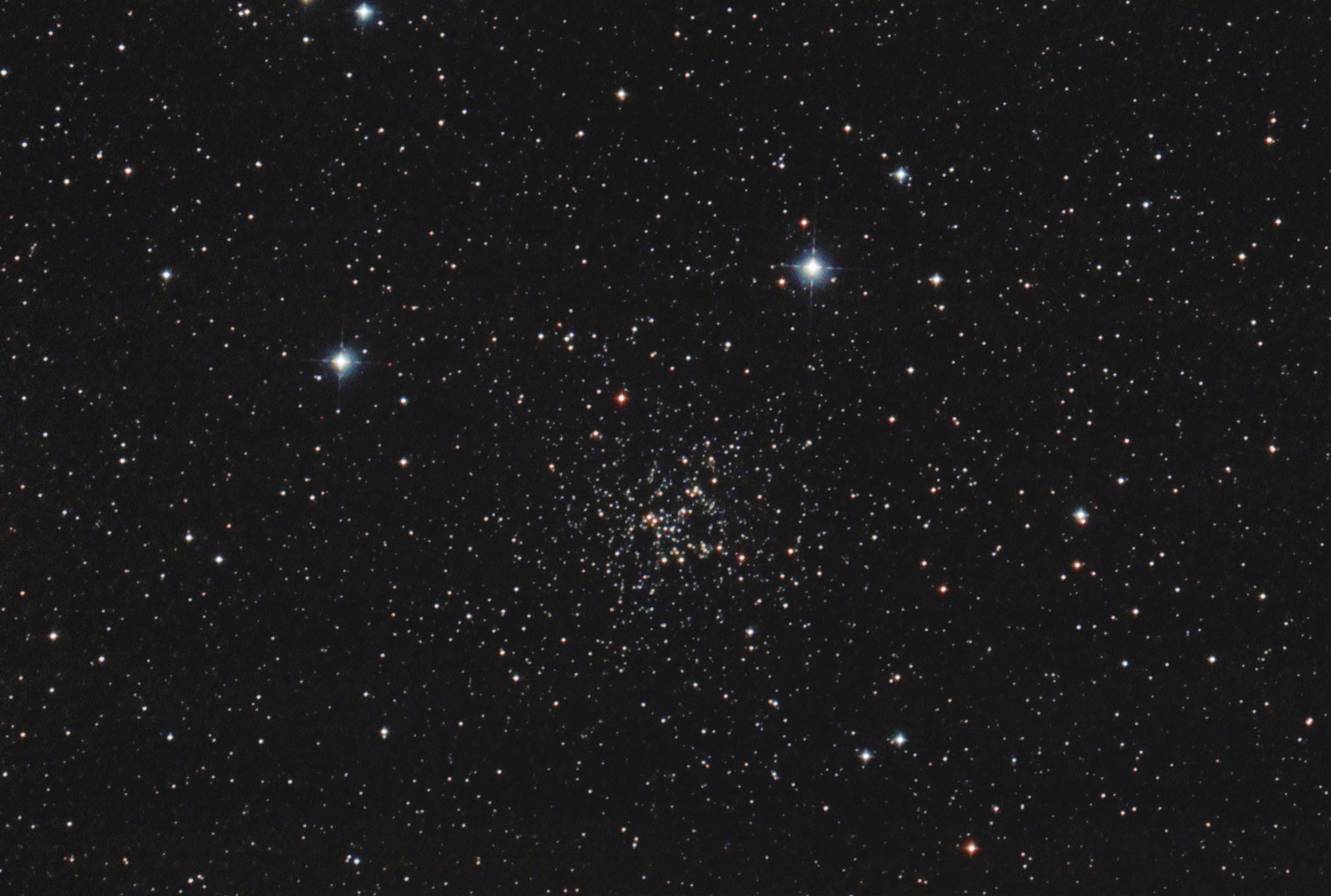 NGC 6819  open cluster in the Cygnus constellation