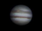 口径30cmのドブソニアンで撮った木星 Jupiter photo taken with Dobsonian of 30cm aperture, September 19 2011