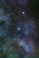Milky Way near M16 ...