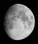 久しぶりの月の撮影