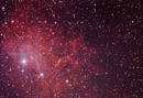 IC405 The Flaming Star Nebula