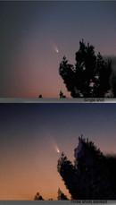 PanStarrs Comet  パンスターズ彗星 on March 13 2013