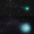 The comet Lovejoy C...
