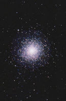 M2 Globular Cluster in the constellation Aquarius 水瓶座の球状星団