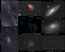 Several Galaxies be...
