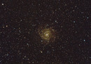 IC 342 intermediate spiral galaxy in the constellation Camelopardalis