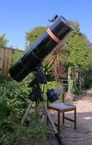 30 cm diameter Newtonian Reflector - ニュートンの反射鏡